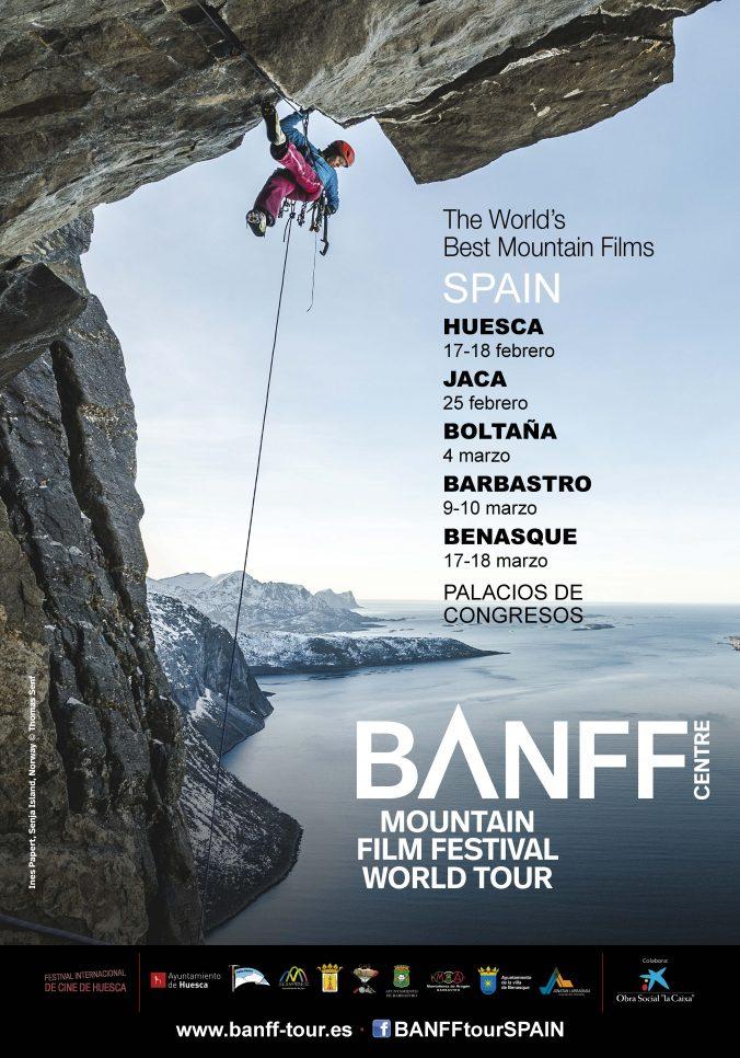 El BANFF World Tour Spain se extenderá por toda la provincia de Huesca