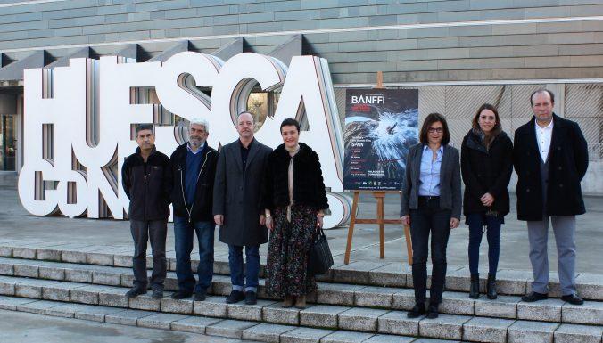 Jesús Bosque, Manolo Bara, Ramón Lasaosa, Isabel Baquedano, Teresa Sas, Sonia Lasierra y Enrique Muñoz