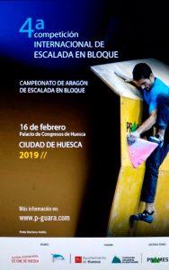 IV Torneo Internacional de escalada en bloque CIUDAD DE HUESCA