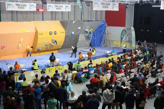 """4ª Competición Internacional de Escalada en Bloque """"Ciudad de Huesca"""""""
