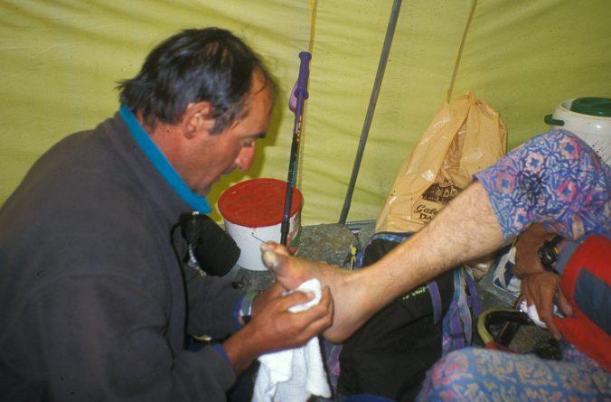 Manuel Avellanas en una intervención en el K2