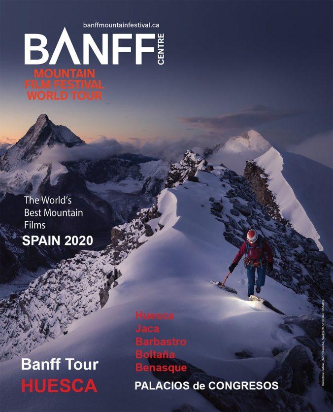 Cartel del Tour Mundial del Banff España 2020