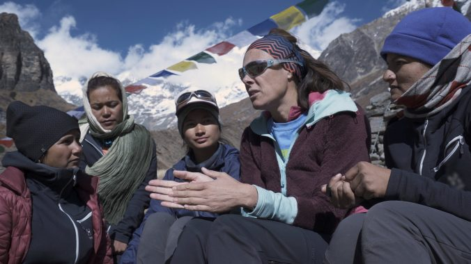 Edurne Pasabán presentará el documental Chhaupadi