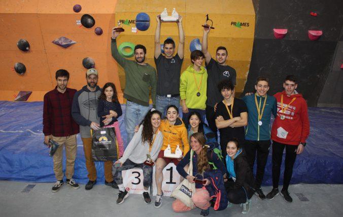 Foto de familia de ganadores
